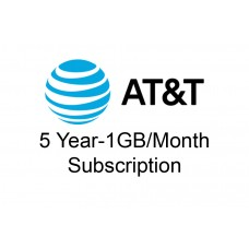 5 year 1GB/month AT&T Data Package