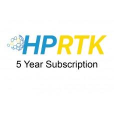 5 Year HPRTK Subscription